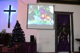 Ibadah Minggu telah selesai. Selamat hari Minggu Advent bagi kita semua.