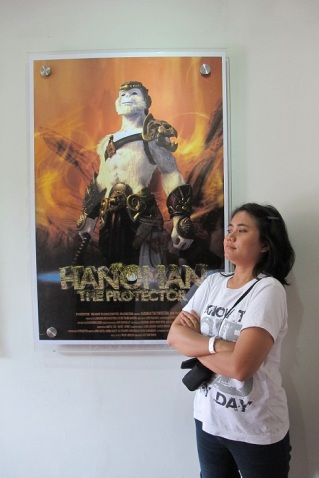 With Hanoman_The Protector